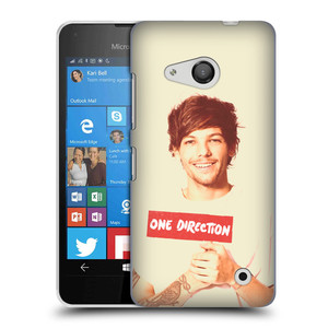 Plastové pouzdro na mobil Microsoft Lumia 550 HEAD CASE One Direction - Louis
