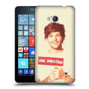 Plastové pouzdro na mobil Microsoft Lumia 640 HEAD CASE One Direction - Louis