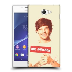 Plastové pouzdro na mobil Sony Xperia M2 D2303 HEAD CASE One Direction - Louis