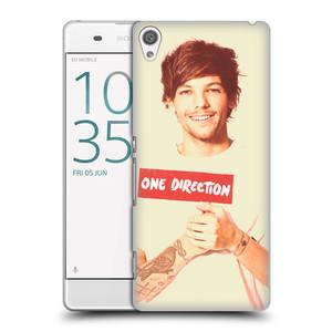 Plastové pouzdro na mobil Sony Xperia XA HEAD CASE One Direction - Louis