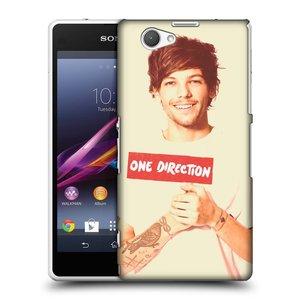 Plastové pouzdro na mobil Sony Xperia Z1 Compact D5503 HEAD CASE One Direction - Louis