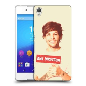 Plastové pouzdro na mobil Sony Xperia Z3+ (Plus) HEAD CASE One Direction - Louis