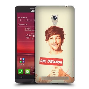 Plastové pouzdro na mobil Asus Zenfone 6 HEAD CASE One Direction - Louis