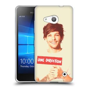 Silikonové pouzdro na mobil Microsoft Lumia 550 HEAD CASE One Direction - Louis