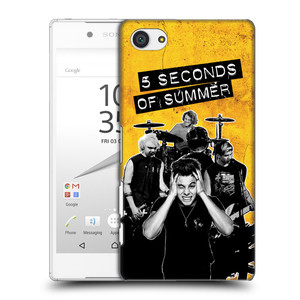 Plastové pouzdro na mobil Sony Xperia Z5 Compact HEAD CASE 5 Seconds of Summer - Band Yellow