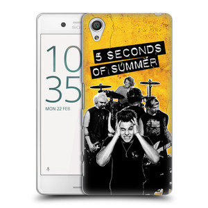 Plastové pouzdro na mobil Sony Xperia X Performance HEAD CASE 5 Seconds of Summer - Band Yellow