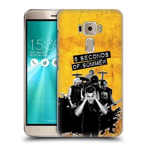 Plastové pouzdro na mobil Asus ZenFone 3 ZE520KL HEAD CASE 5 Seconds of Summer - Band Yellow