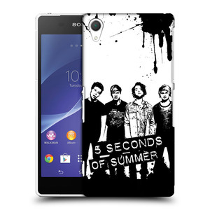 Plastové pouzdro na mobil Sony Xperia Z2 D6503 HEAD CASE 5 Seconds of Summer - Band Black and White