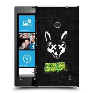 Plastové pouzdro na mobil Nokia Lumia 520 HEAD CASE 5 Seconds of Summer - Fox