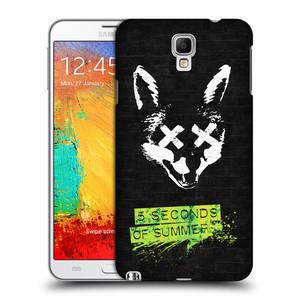 Plastové pouzdro na mobil Samsung Galaxy Note 3 Neo HEAD CASE 5 Seconds of Summer - Fox