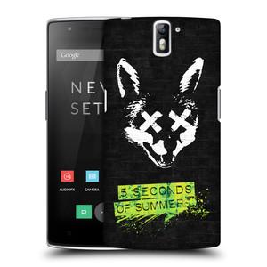 Plastové pouzdro na mobil OnePlus One HEAD CASE 5 Seconds of Summer - Fox