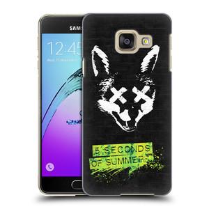 Plastové pouzdro na mobil Samsung Galaxy A3 (2016) HEAD CASE 5 Seconds of Summer - Fox