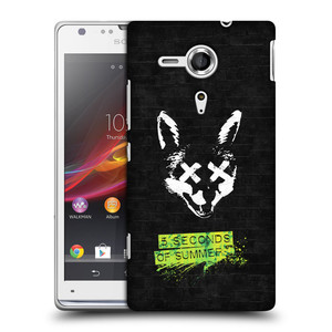 Plastové pouzdro na mobil Sony Xperia SP C5303 HEAD CASE 5 Seconds of Summer - Fox