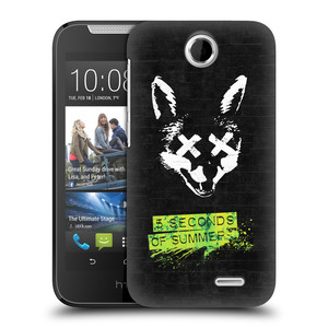 Plastové pouzdro na mobil HTC Desire 310 HEAD CASE 5 Seconds of Summer - Fox