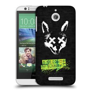 Plastové pouzdro na mobil HTC Desire 510 HEAD CASE 5 Seconds of Summer - Fox