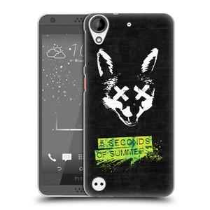 Plastové pouzdro na mobil HTC Desire 530 HEAD CASE 5 Seconds of Summer - Fox