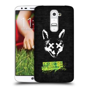 Plastové pouzdro na mobil LG G2 HEAD CASE 5 Seconds of Summer - Fox