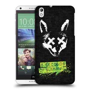 Plastové pouzdro na mobil HTC Desire 816 HEAD CASE 5 Seconds of Summer - Fox