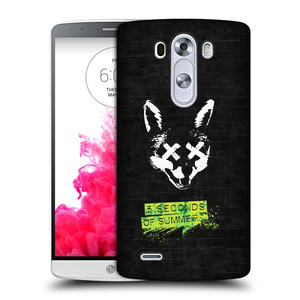 Plastové pouzdro na mobil LG G3 HEAD CASE 5 Seconds of Summer - Fox