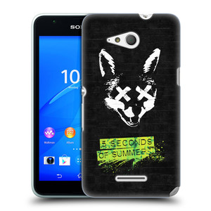 Plastové pouzdro na mobil Sony Xperia E4g E2003 HEAD CASE 5 Seconds of Summer - Fox