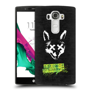 Plastové pouzdro na mobil LG G4 HEAD CASE 5 Seconds of Summer - Fox