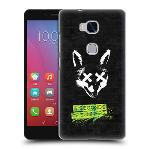 Plastové pouzdro na mobil Honor 5X HEAD CASE 5 Seconds of Summer - Fox