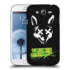 Plastové pouzdro na mobil Samsung Galaxy Grand Neo HEAD CASE 5 Seconds of Summer - Fox
