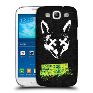 Plastové pouzdro na mobil Samsung Galaxy S3 Neo HEAD CASE 5 Seconds of Summer - Fox