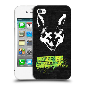 Plastové pouzdro na mobil Apple iPhone 4 a 4S HEAD CASE 5 Seconds of Summer - Fox