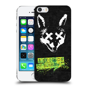 Plastové pouzdro na mobil Apple iPhone SE, 5 a 5S HEAD CASE 5 Seconds of Summer - Fox