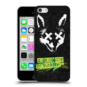 Plastové pouzdro na mobil Apple iPhone 5C HEAD CASE 5 Seconds of Summer - Fox