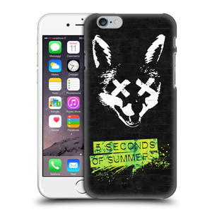 Plastové pouzdro na mobil Apple iPhone 6 HEAD CASE 5 Seconds of Summer - Fox