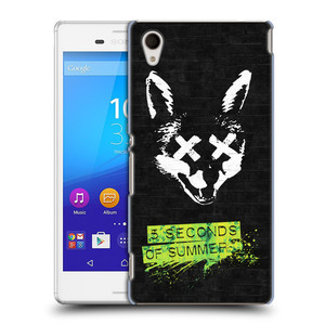 Plastové pouzdro na mobil Sony Xperia M4 Aqua E2303 HEAD CASE 5 Seconds of Summer - Fox