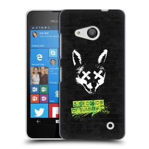 Plastové pouzdro na mobil Microsoft Lumia 550 HEAD CASE 5 Seconds of Summer - Fox