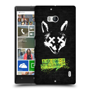 Plastové pouzdro na mobil Nokia Lumia 930 HEAD CASE 5 Seconds of Summer - Fox