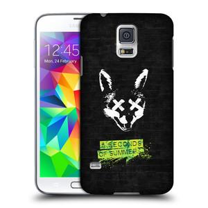 Plastové pouzdro na mobil Samsung Galaxy S5 HEAD CASE 5 Seconds of Summer - Fox