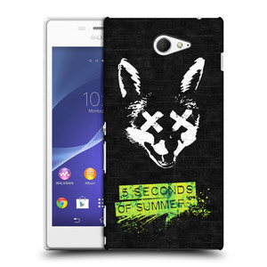 Plastové pouzdro na mobil Sony Xperia M2 D2303 HEAD CASE 5 Seconds of Summer - Fox