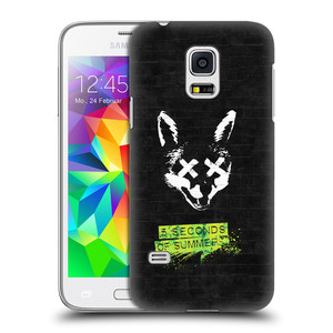 Plastové pouzdro na mobil Samsung Galaxy S5 Mini HEAD CASE 5 Seconds of Summer - Fox