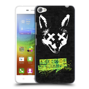 Plastové pouzdro na mobil Lenovo S60 HEAD CASE 5 Seconds of Summer - Fox
