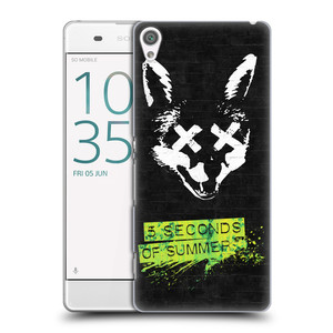 Plastové pouzdro na mobil Sony Xperia XA HEAD CASE 5 Seconds of Summer - Fox