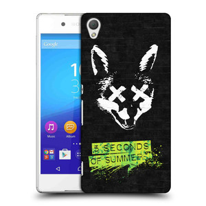 Plastové pouzdro na mobil Sony Xperia Z3+ (Plus) HEAD CASE 5 Seconds of Summer - Fox