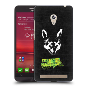 Plastové pouzdro na mobil Asus Zenfone 6 HEAD CASE 5 Seconds of Summer - Fox