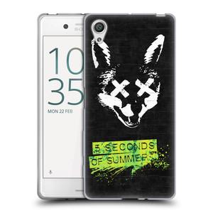 Silikonové pouzdro na mobil Sony Xperia X HEAD CASE 5 Seconds of Summer - Fox