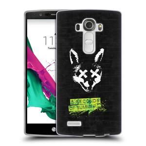 Silikonové pouzdro na mobil LG G4 HEAD CASE 5 Seconds of Summer - Fox