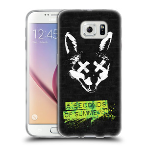 Silikonové pouzdro na mobil Samsung Galaxy S6 HEAD CASE 5 Seconds of Summer - Fox