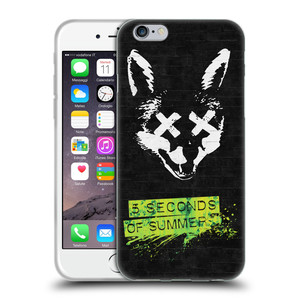 Silikonové pouzdro na mobil Apple iPhone 6 HEAD CASE 5 Seconds of Summer - Fox