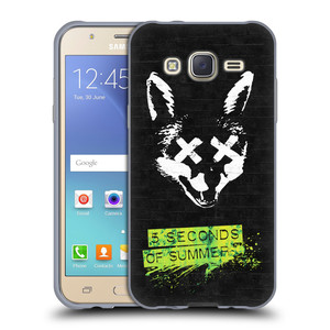 Silikonové pouzdro na mobil Samsung Galaxy J5 HEAD CASE 5 Seconds of Summer - Fox