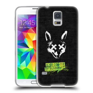 Silikonové pouzdro na mobil Samsung Galaxy S5 HEAD CASE 5 Seconds of Summer - Fox