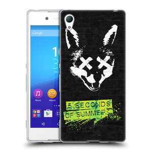 Silikonové pouzdro na mobil Sony Xperia Z3+ (Plus) HEAD CASE 5 Seconds of Summer - Fox