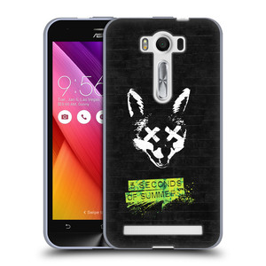 Silikonové pouzdro na mobil Asus ZenFone 2 Laser ZE500KL HEAD CASE 5 Seconds of Summer - Fox